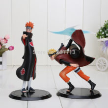 Collectible Naruto vs. Pain PVC Action Figures