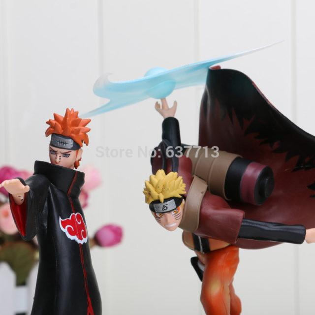 Collectible Naruto vs. Pain PVC Action Figures