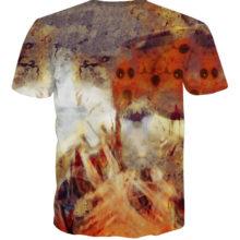 Colorful Uzumaki Naruto 3D T shirt