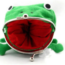 Cute Naruto's Frog Wallet / Purse