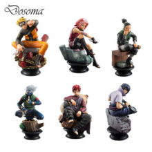 Fascinating Collector's 9cm Naruto PVC Action Figures
