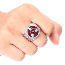 Great metal quality Naruto's Sharingan Ring