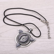 High Quality rotable Naruto's metal cosplay Necklace / pendant
