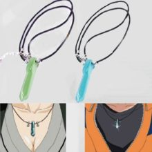 Hot Naruto Uzumaki's Jade Pendant Necklace in 2 Colors