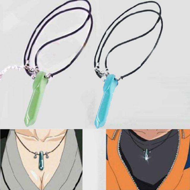Hot Naruto Uzumaki's Jade Pendant Necklace in 2 Colors