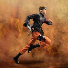 Impressive 22cm running Naruto PVC Action Figure