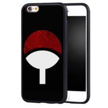 Itachi Clan's Symbol Soft TPU Phone Case for iPhone 6 6S Plus SE 5 5S 5C 4 4S