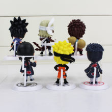 Lovely and highly collectible 6pcs of 8cm Naruto Action Figures / Toys