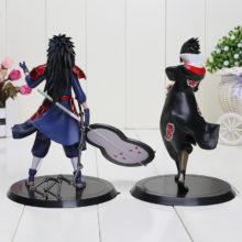 Magnificent Madara Uchiha & Sasuke Uchiha 2pcs/set PVC Action Figures