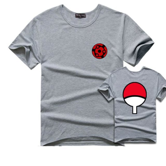 Magnificent Sasuke Uchiha's Family Logo / Eye Symbol T-Shirt / 20 Colors