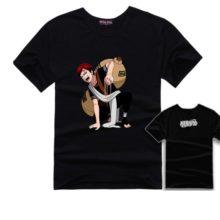 Naruto's Gaara Cosplay Print-Style T-Shirt / 18 Designs