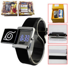 Naruto's Cosplay Costume electronic Watch with Cool Led