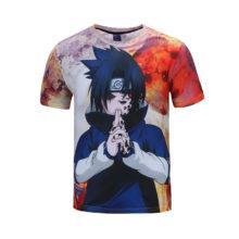 New all-over print Itachi Uchiha's t-shirt