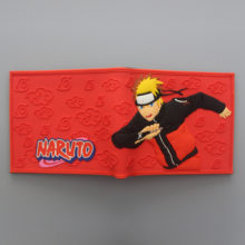 Outstanding 3D Pattern-Printing Naruto's PVC Wallet