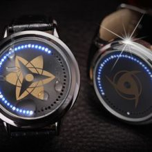 Outstanding Naruto's Sasuke & Itachi's Led Back Light Waterproof Watch