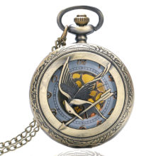 Perfectly vintage Naruto's Unisex Necklace Pocket Watch