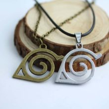 Stunning Naruto's Leaf Symbol Cosplay Necklace in 2 colors