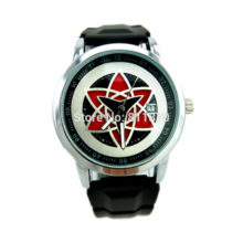 Superb Naruto's Konoha Uchiha Sasuke Hexagram Cosplay Watch