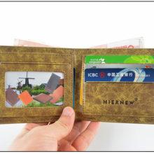 Thin NARUTO PU short purse / wallet with Hatake Kakashi Sharingan mark