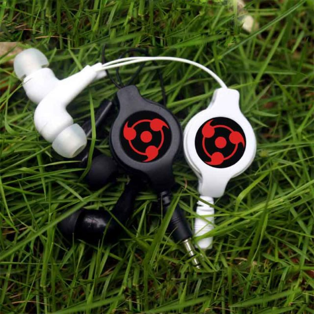 Powerful Naruto's Sharingan Earphones