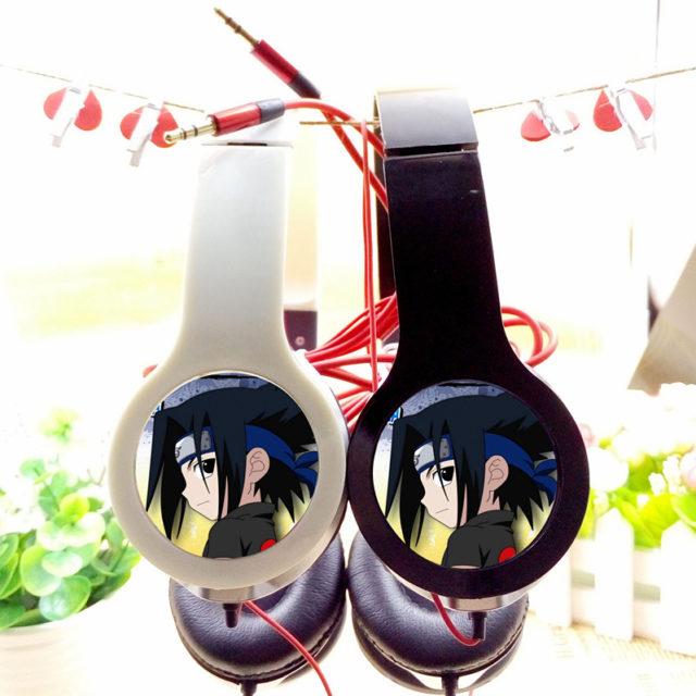 Stunning NARUTO's Sasuke Uchiha Adjustable Headphones