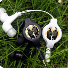 Amazing Naruto's Hatake Kakashi Wired Stereo Earphones