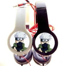 Superb NARUTO's Kakashi Hatake Adjustable / Foldable Stereo Headphones