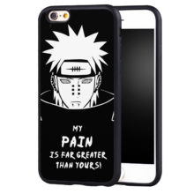 "Naruto's ""My Pain Is Far Greater Than Yours"" Soft TPU Phone Case for iPhone 6, 6S"