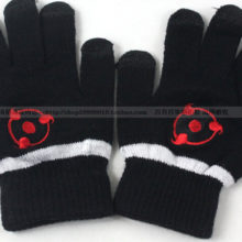 Superb Naruto's three Yasaka Magatama symbol winter gloves