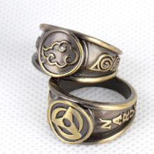 Naruto's cosplay 10 Rings Set
