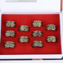 Naruto's cosplay 10 Rings Set