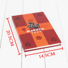 Collectible Naruto's cosplay Notebook / Pocket-Book / Travel Diary