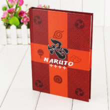 Collectible Naruto's cosplay Notebook / Pocket-Book / Travel Diary