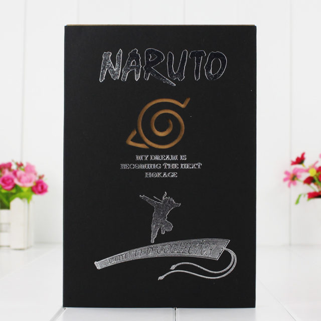 Astounding Naruto's Cosplay Notebook/Diary