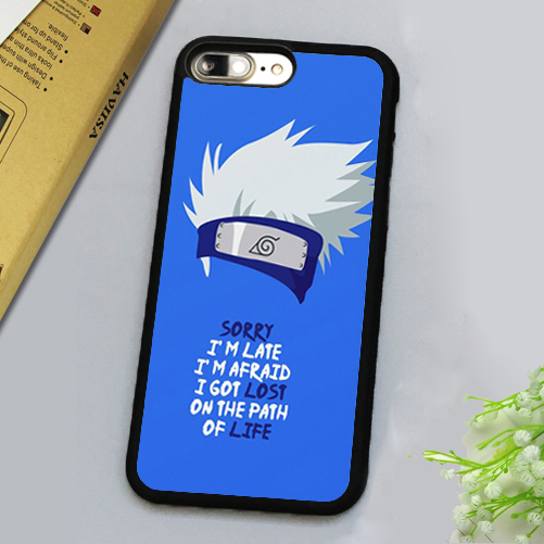 Naruto's Kakashi quote phone case/cover for iPhone 7, 7 Plus