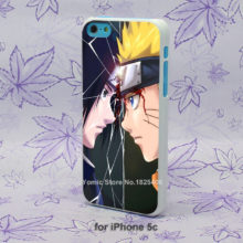 Naruto vs. Sasuke phone cover/case for iPhone SE, 4, 4s, 5, 5s, 5c, 6, 6s Plus