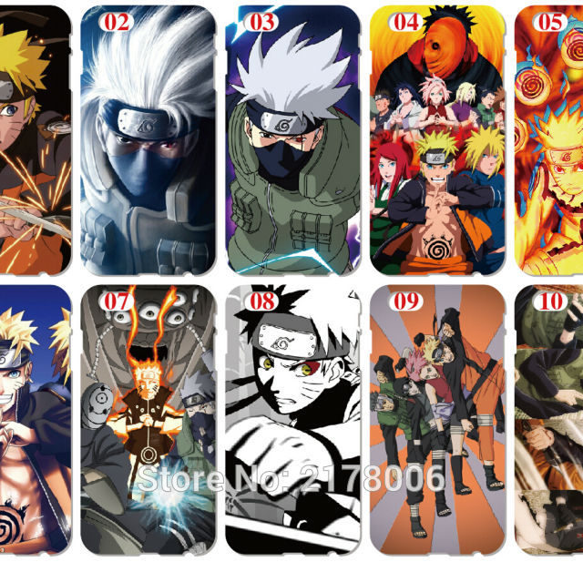 Naruto's Phone covers for iPhone 5, 5S, SE, 5C, 6, 6S & Samsung Galaxy A3, A5, A7, A8, E5, E7, J1, J2, J3, J5, J7