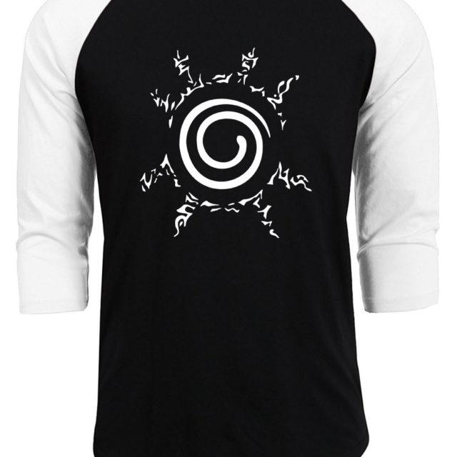 Cool naruto's Four Symbols Seal baseball jersey