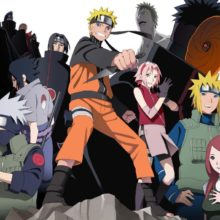 Naruto Shippuden's high quality home wall poster