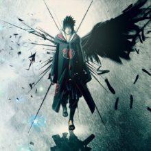 Magnificent Sasuke Uchiha's wall poster