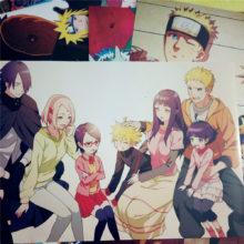 Fantastic full color Naruto wall posters (8 pcs set)