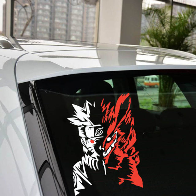 Astounding Naruto reflective car sticker / decal