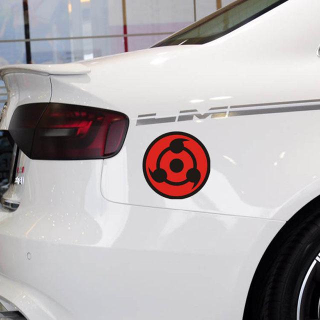 Naruto's Uchiha sharingan car sticker / decal