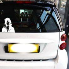 Classic Sasuke car stickers / vinyl decal
