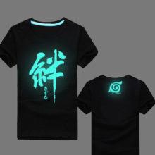 Amazing fluorescent NARUTO Uzumaki T-Shirt