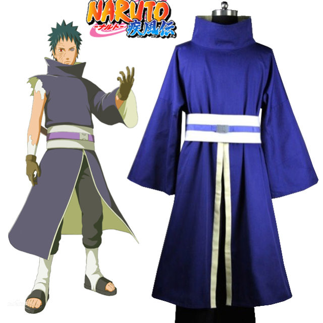 Naruto Shippuden's Obito Uchiha cosplay costume (no mask)