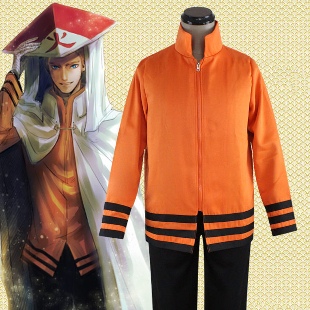 Great Naruto Seventh Hokage Cosplay / Costume