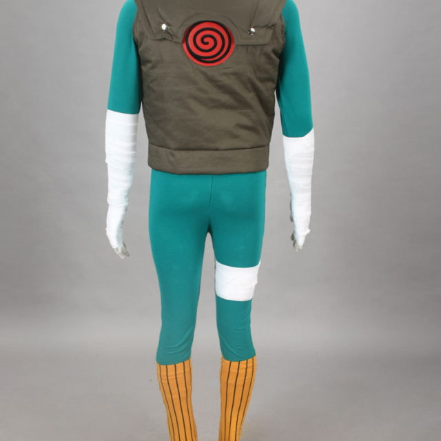 Kick-ass Naruto's Rock Lee cosplay / costume