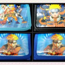12Pcs of Naruto Coin Purse / Wallet for Birthday Party Gifts