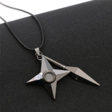 Amazing NARUTO's Shuriken Pendant Necklace